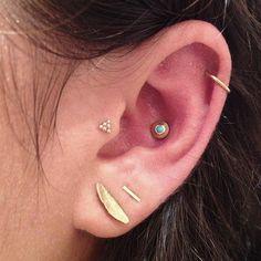 LK- aztec piercings