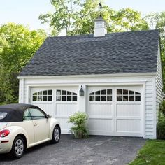 Garage Remodel:    Photo: Tria Giovan | thisoldhouse.com | from A DIYer's Delight in a Colonial Revival Remodel