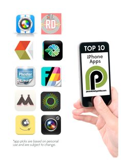 Persnickety top 10 photo apps