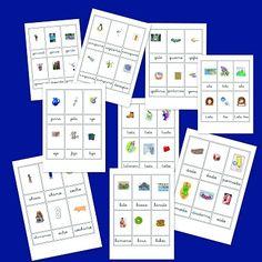 Recursos para el aula: Fichas de vocabulario en imágenes