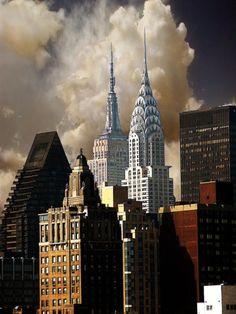 """""""Gotham Morning"""", New York City."""