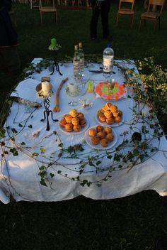 Handfasting altar.
