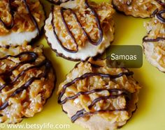 Make your own Girl Scout Cookies. Recipes for all varieties of these great cookies!