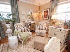 Cottage   Living Rooms   Sabrina Soto : Designer Portfolio : HGTV - Home & Garden Television
