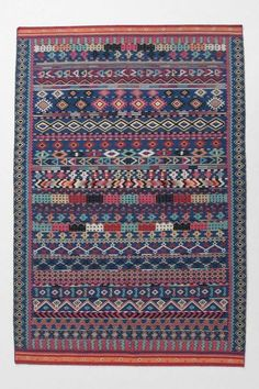 Rugs From Around The World by Jeanine Hays. Mediterranean rugs by Anthropologie