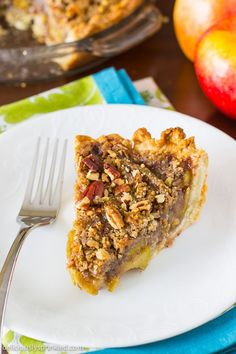 Apple Pecan Pie, a e