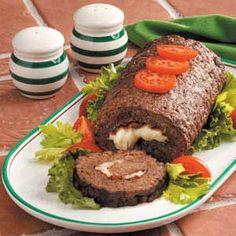 dinner, meat roll