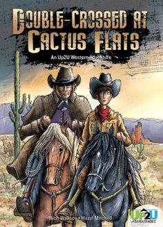 'Double Crossed at Cactus Flats', an Up2U chapter book from Magic Wagon is out! Author Rich Wallace, illo's by me. This is a great book for boys (and girls) grade 3 -5. http://www.abdopub.com/shop/pc/configurePrd.asp?idproduct=35766