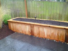 Awesome raised garden or flower bed.