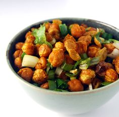 Chana Jor Garam, a spicy, crispy chickpea snack from the streets of Mumbai.