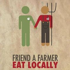 Friend A Farmer, Eat Locally! Share To Support! https://www.facebook.com/Cornucopia.Institute