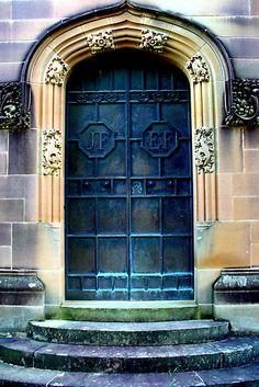 Sydney, Australia rookwood cemeteri, doorway, blue doors, incred door, portal, australia, cemeteri art, beauti door, entranc