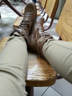Must have folk fall boots. #ALDOpinthetrends