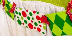 This homemade garland is delightfully tacky for an ugly sweater Christmas party!