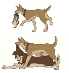 """""""SPN - supernatural Fan Art it's puppy dog Sam and Dean"""" -OMG CUTEST THING EVER!!!"""