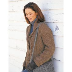 Garter and Cables Jacket