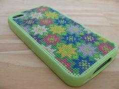a cross stitch iphone case!!! Love it!