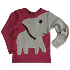 DIY: elephant sweater. So cute!