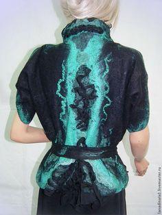 Одежда валяная из шерсти