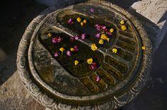 footprint, mahabodhi templ