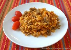 Spanish Rice with Sausage (gluten free)