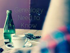 9 #Genealogy Things You Need to Know Today, Friday, 18 July 2014, via 4YourFamilyStory.com. #needtoknow #familytree