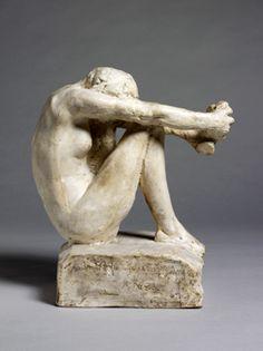 """Despair""  Auguste Rodin.  Art Experience NYC  www.artexperiencenyc.com"