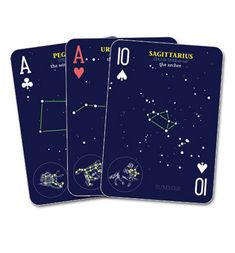 geek stuff, constellations, play card, sky play, card iwantiwantiw, book, constel play, game, playing cards