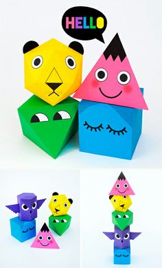DIY Paper Fold-ables by Mini - Eco