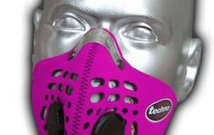Respro® Techno™ Mask - pink  http://www.respro.com/products/urban-commuting/cycling/techno_mask/