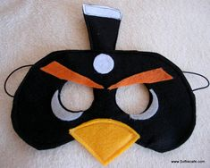 angry birds felt, stuff, birthday parties, mask artsandcraft, masks