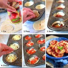 Pepperoni Bites | simple cooking, recipe