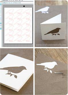 Klistermärken av kraftpapper – DIY Craft paper stickers made with the Silhouette CAMEO | Craft & Creativity – Pyssel & DIY