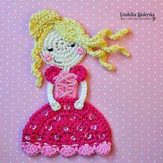 Crochet princess.  Pattern ? 6/14.