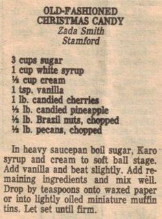 vintage recipe | Tumblr.