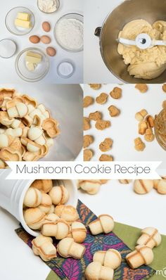 This mushroom cookies are always a hit. Easy recipe with step by step photos.
