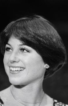 Dorothy Hamill and her aerodynamic wedge hair cut. Iconic!