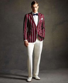 The Great Gatsby Style Influences the Latest Brooks Brothers Collection #1920s #fashion trendhunter.com