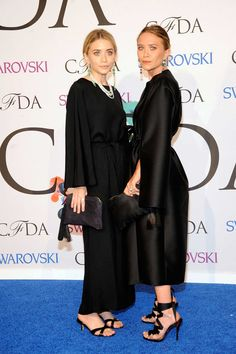 The CFDA Turns It Up on the Red Carpet - Mary Kate and Ashley Olsen in The Row