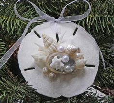 BEACH CHRISTMAS ORNAMENT