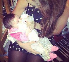 Rochelle n baby Aoife Belle