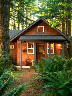 360 sqft  cabin at WildSpring resort, near Port Orford, Oregon