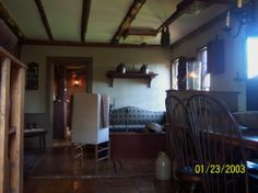 2011  ( pay no attention to camera dates :) view of the Keeping room looking into the Great room