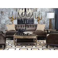 curtains z gallerie my living room decor on pinterest david hicks chesterfield and