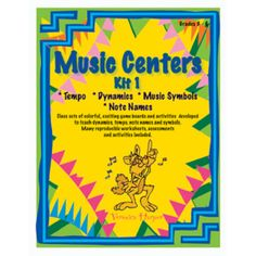 Music Centers Kit 1   Games   Games & Activities   Games & Teaching Aids   West Music
