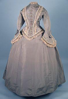 Day dress, ca 1870