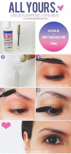 DIY: Lashes and Castor Oil
