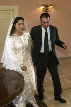 The wedding of Princess Haya bint Al Hussein of Jordan and Sheikh Mohammed bin Rashid Al Maktoum of the United Arab Emirates 2004.