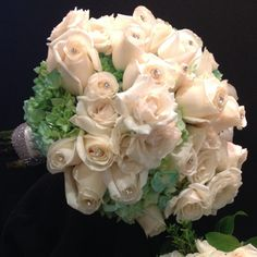 Floral arrangement from our Bordentown store #ACME #Wedding #Rose