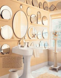 Total overkill...total cool....mirrors.
